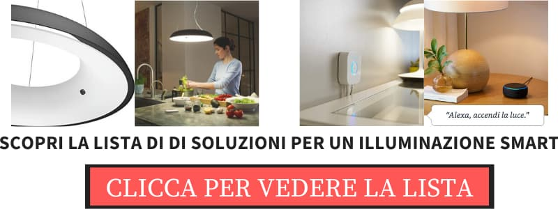 lampadari led domotica - illuminazione smart