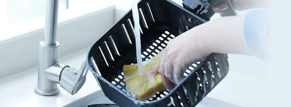 pulizia Friggitrice senza olio
