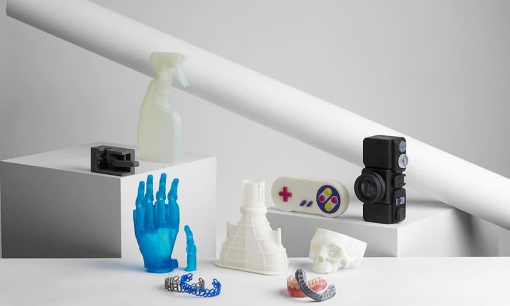 oggetti prodotti con Stampante 3d resina