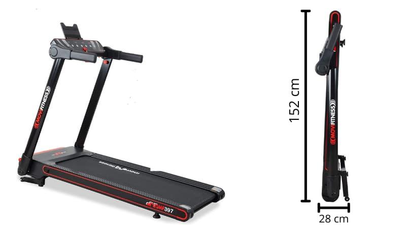 FITFIU Fitness Movi Fitness Tapis roulant