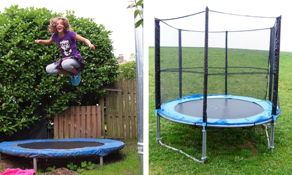 trampolino da giardino elastico